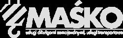Logo Maśko białe